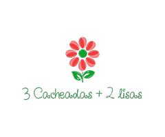 3 Cacheadas & 2 lisas